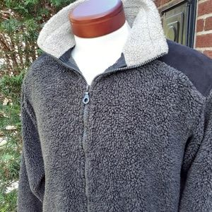 Vintage Kuhl Alf Sherpa Fleece Unisex Fall Jacket